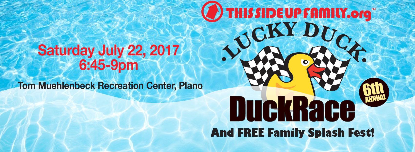 Duck Race 2017 Facebook Banner ad
