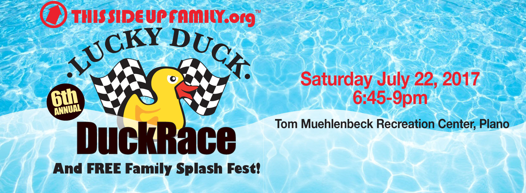 Duck Race 2017 Long Banner ad